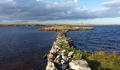 Eilean Dhomhnaill, Loch Olabhat