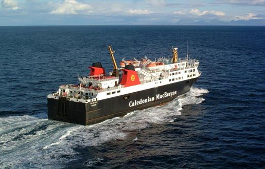 Caledonian MacBrayne Ferry to North Uist - Uig to Lochmaddy Route