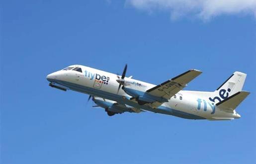 Flight Routes - Loganair - Benbecula to Glasgow