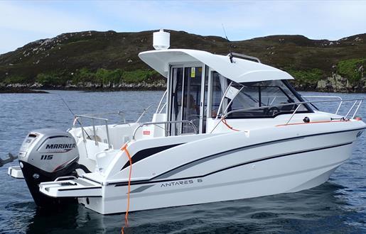 Hebrides Fish 'n' Trips boat Eydis.