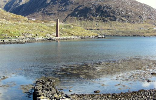 Skeudale with the old whaling station at Buonvoneader in the foreground