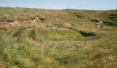 Cladh Hallan Roundhouses