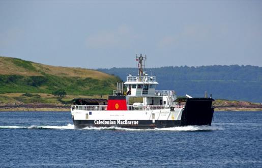 Caledonian MacBrayne Inter-island Barra & Eriskay Ferry Service - Barra to Eriskay Route