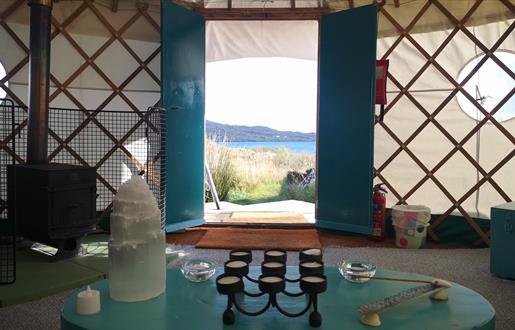 Lickisto - view from yurt