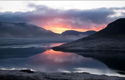 Sunrise at Loch Seaforth