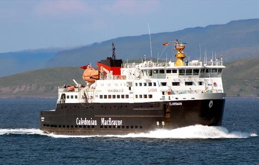 Caledonian MacBrayne Ferry to South Uist - Lochboisdale to Mallaig Route