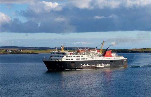 Caledonian MacBrayne Ferry to Lewis - Stornoway to Ullapool Route