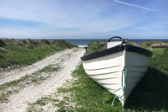 South Boisdale Beach and Boat