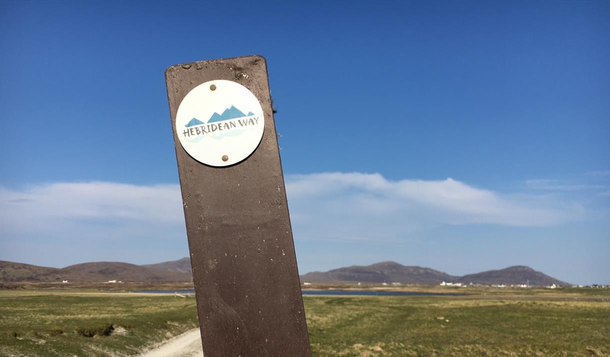 South Uist: Wayfinder at Daliburgh