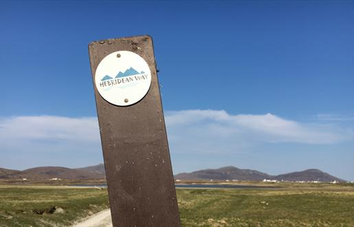 South Uist: Wayfinder at Daliburgh