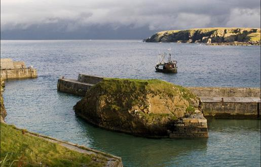 Peter May Trilogy - Port of Ness Harbour