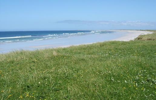 Stilligarry Beach and Machair