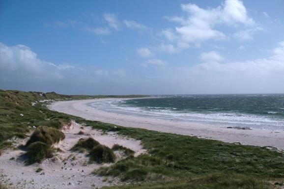 Hougharry Beach and Machair