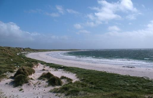 Hougharry Beach and Machair