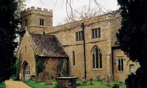 St Mary the Virgin in Black Bourton (photo courtesy of www.oxfordshirechurches.info)