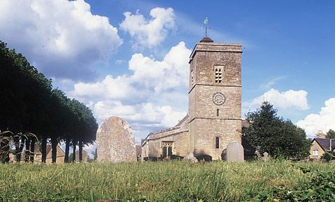 Holy Trinity Church in Ascott under Wychwood