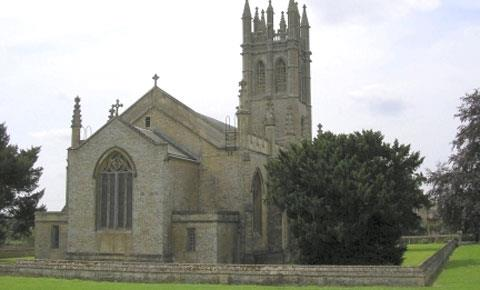All Saints Church in Churchill - photo courtesy of www.oxfordshirechurches.info