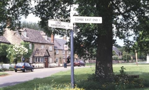 The Village Green in Combe