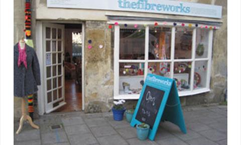 The Fibreworks, a knit and crochet shop and studio in Chipping Norton