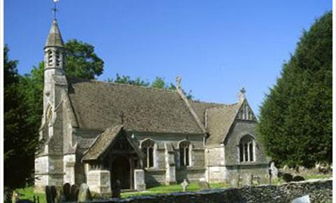 St Mary's Church in Holwell (photo courtesy of Derek Cotterill)