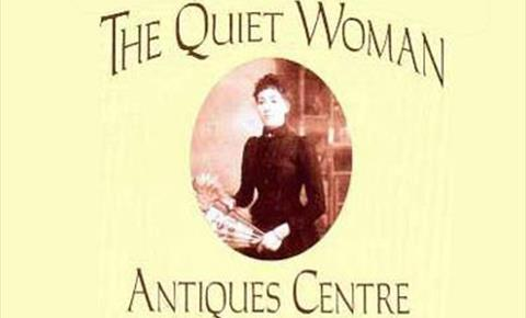 The Quiet Woman Antiques Centre at Southcombe near Chipping Norton