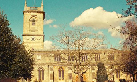 St Mary Magdalene Church in Woodstock, Oxfordshire