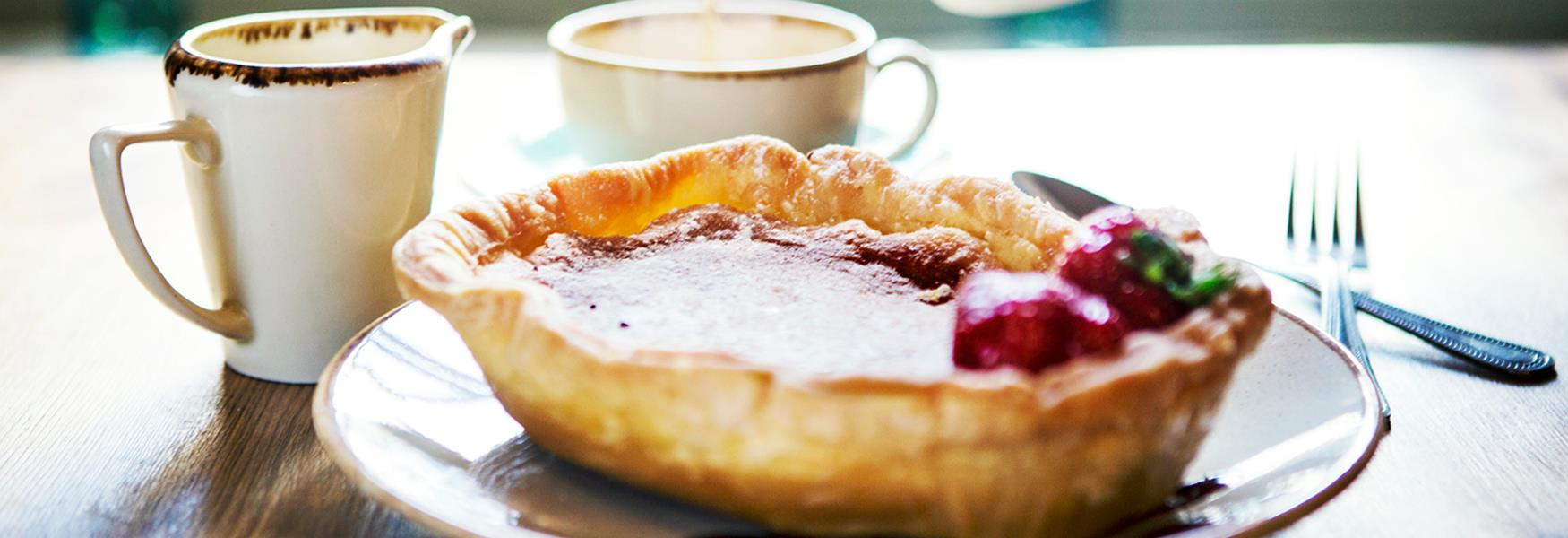 Try our famous Bakewell Pudding!