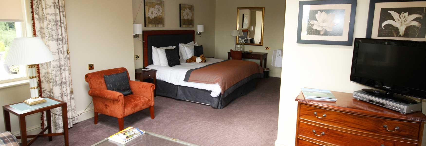 Try the accessible suite at East Lodge