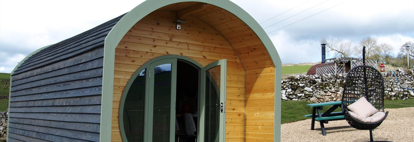 Gorgeous Glamping Pods