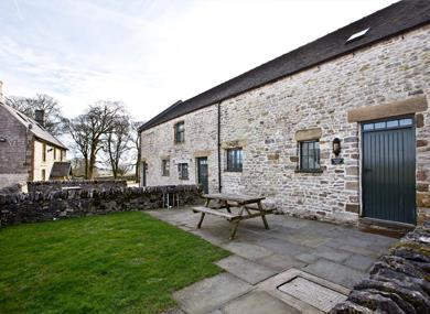 Group accommodation in the Peak District