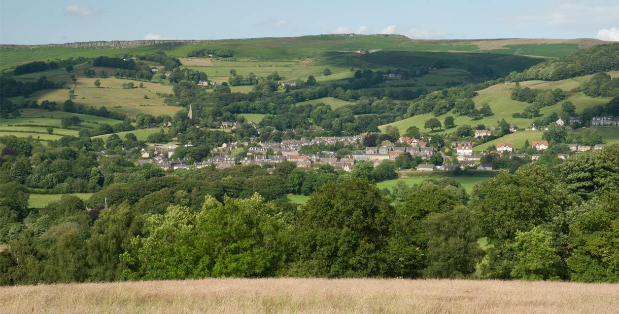 Highs and lows around Hathersage cycle route