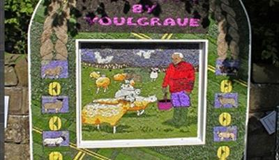 Well Dressing at Middleton by Youlgrave