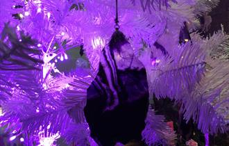 Make a Blue John Christmas Decoration Activity with 'The Cavern at Christmas' self guided audio tour