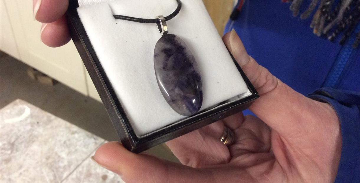 Make a Blue John Necklace Activity and Treak Cliff Cavern Self-Guided Audio Tour