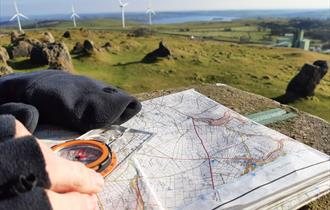 Learn Map Reading  Skills in the Peak District