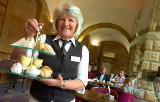 Afternoon tea at the the Cavendish Rooms