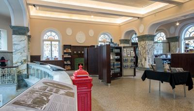 Find out more about this lovely historic building, indulge in some retail therapy in the gift shop, and drink the famous thermal mineral water!