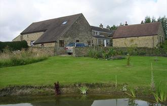 COWCLOSE BARN  FROM ORCHARD