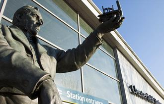 George Stephenson at Chesterfield train station