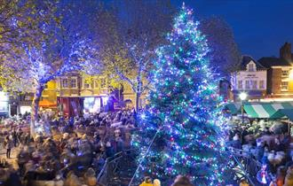 Chesterfield Christmas Lights Switch On 2021
