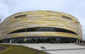 Derby Arena exterior – credit Graham Commons