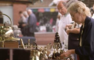 Shopping at Chesterfield Market