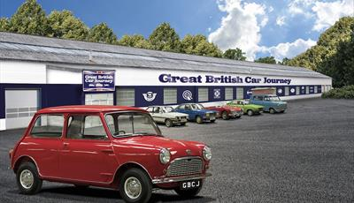 Great British Car Journey & Drive Dad's Car Located in Ambergate, Derbyshire is a brand new visitor attraction set to open in May 2021