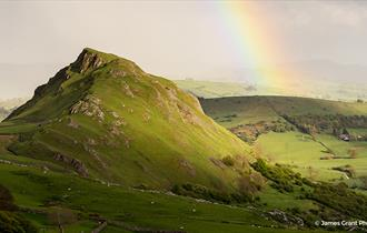 Chrome Hill viewed from Parkhouse Hill