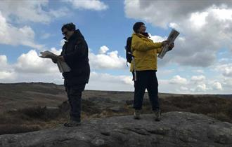 Peakguide: Hathersage map reading for beginners.