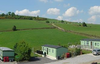 Shaw Farm Static Caravan site available for holidays and short breaks in the Peak District