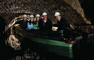 Speedwell Cavern – Visited by Boat