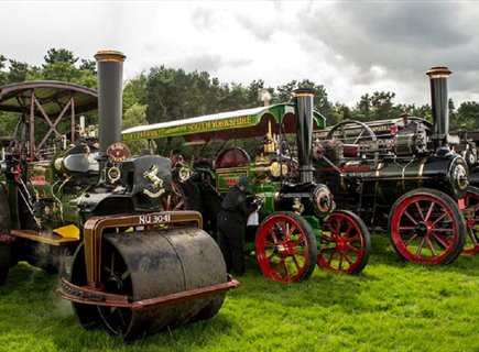 Steam Engines at Cromford Steam Rally