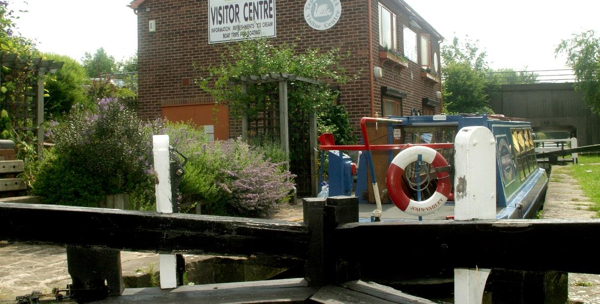 Visitor Centre on the Chesterfield Canal