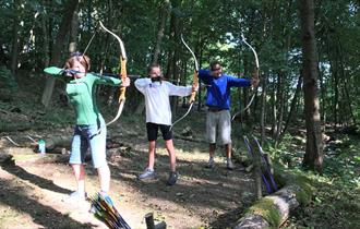 Everything is suitable for all ages and abilities and, there is a choice of activities including our woodland assault course, archery, and more